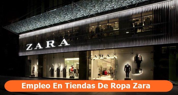 Empleo en tiendas de ropa Zara