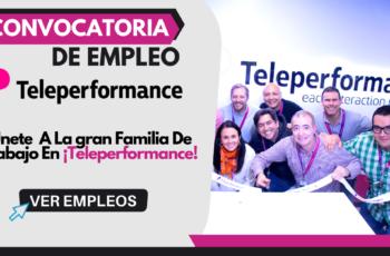 Oferta De Empleo En Teleperformance