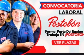 Oportunidad de trabajo en Postobón