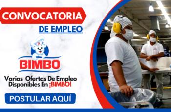 Compañía Bimbo Ofrece Nuevas Oportunidades De Empleo