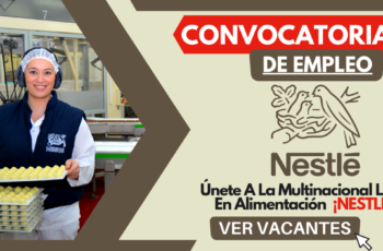 Oferta De Empleo En Multinacional Nestle
