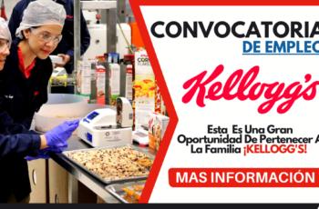 Oportunidad De Empleo En La Compañía Kelloggs