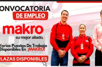 Oportunidad De Trabajo En Makro