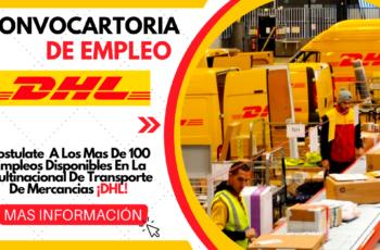 Empresa DHL Solicita Personal