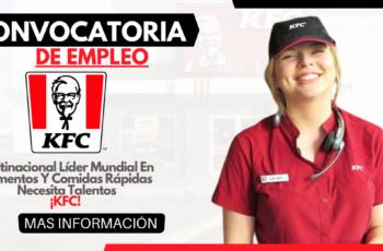 Oferta De Empleo En KFC