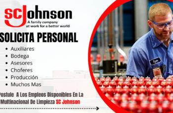 Empleos En Empresa Sc Johnson