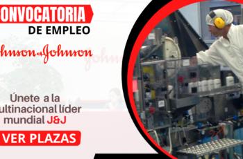 Nuevos Empleos En Multinacional Johnson & Johnson