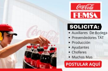 Nuevos Puestos De Trabajo En Coca Cola