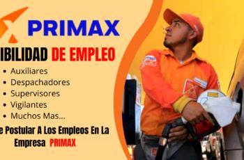 Primax Empresa Líder De Grifos Requiere Nuevo Personal