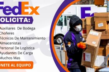 Empleos disponibles en Fedex