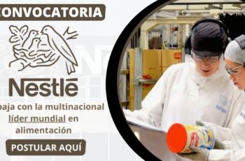 Convocatoria de empleos en Nestle